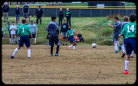Belmont Middle Soccer vs WC Friday 2015