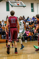 East Gaston at Ashbrook Varsity Mens Basketball 15-16