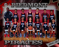 Piedmont Boys Basketball 2014