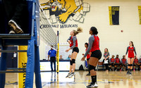 Piedmont at Crestdale Volleyball 2017
