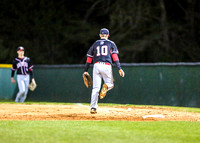 South Point at East Gaston Var Baseball Mar 22 2018