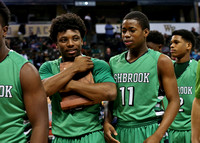 Ashbrook Varsity Men Basketball vs Crest West Regional Finals 14-15