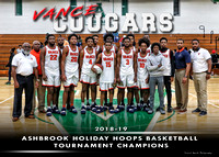 Hunter Huss vs Vance Championship Hoops Basketball Tournament Dec 2018