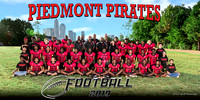 Piedmont Middle Football 2019