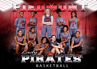 Piedmont Girls Basketball 2019-20