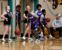 Stuart Cramer at Forestview Mens Basketball Conference Playoff 2020