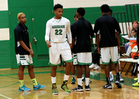 Ashbrook Varsity Men Basketball vs North Gaston 2014