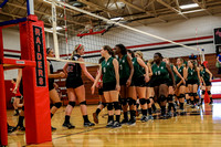 Ashbrook Volleyball vs South Point 2015