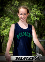Belmont Middle Girls Track 2016