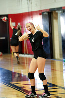 Shelby at South Point JV Volleyball 2017